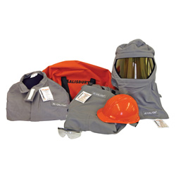 Salisbury Safety Kit Arc Flash Lift Front Hood 40 cal SK40-LFH40-SPL New  PrismShield Lens